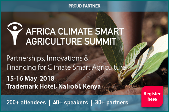 Africa Climate Smart Agriculture Congress  15-16 May 2018