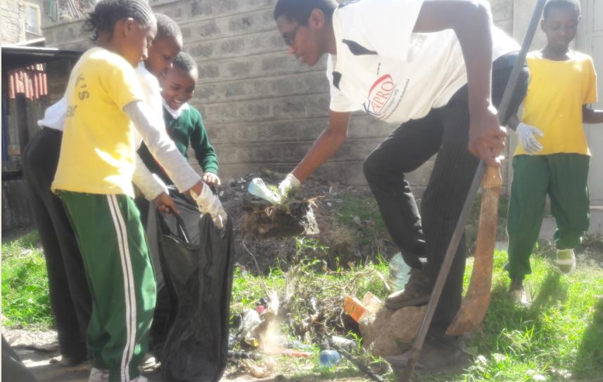 School Environmental Health Program, with St. Marks Academy, 2017